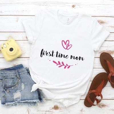 Tricou First Time Mom