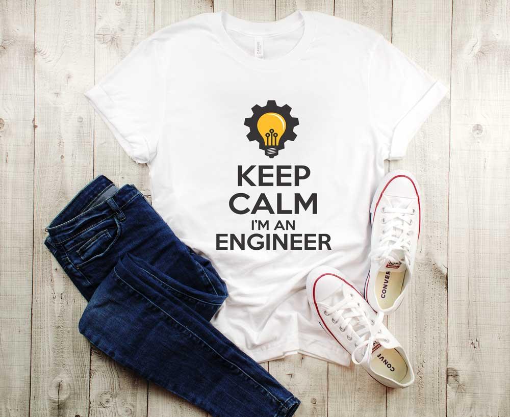 Tricou Keep Calm I'm An Engineer