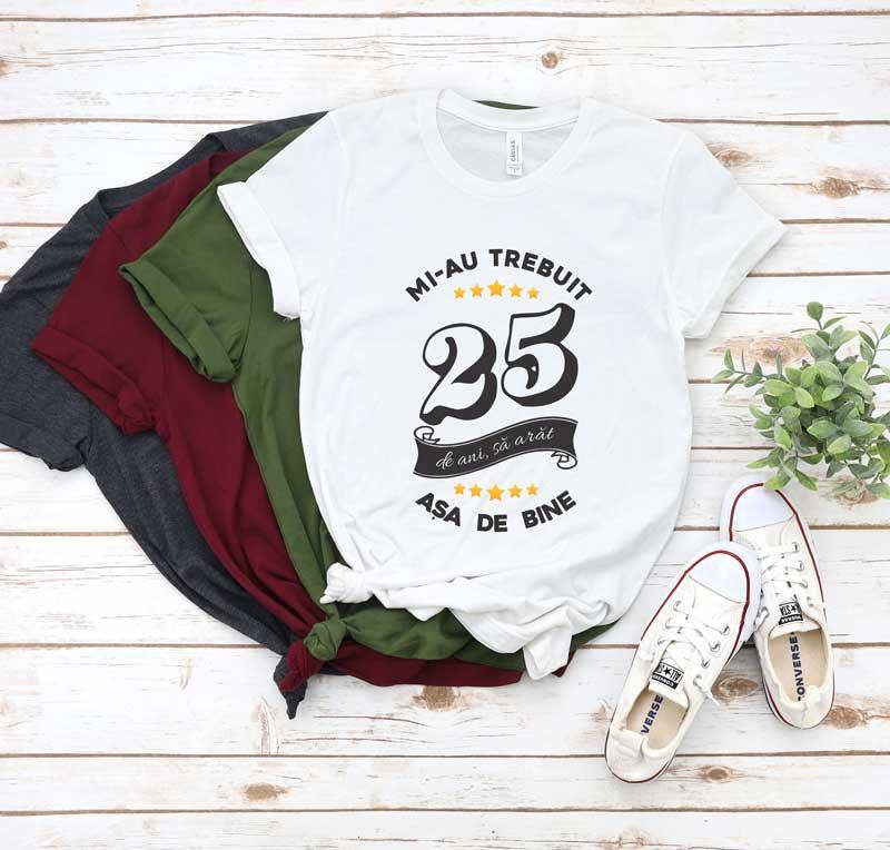 Tricou Mi-au trebuit 25 de ani sa arat atat de bine MODEL6